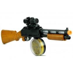 Pistolet Broń Karabin AK 868-1 Świeci Gra 60 cm