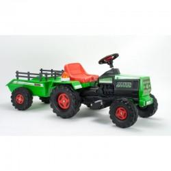 INJUSA Traktor Na Akumulator Basic 6V + Przyczepka