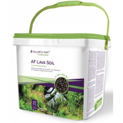 Aquaforest Lava Soil Black 5l - podłoże naturalne czarne