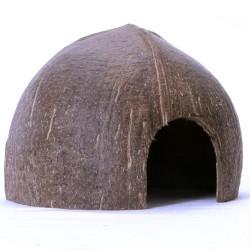 Terrario CocoCave L - połówka kokos gładki