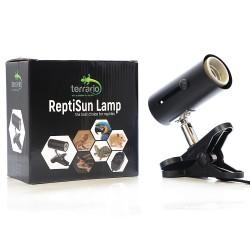 Terrario ReptiSun - lampa z uchwytem zaciskowym