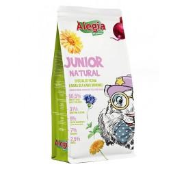 Alegia - Junior Natural - pokarm ziołowy dla młodych świnek morskich 650g