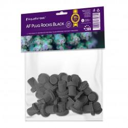 Aquaforest Plus Rocks Black - podstawki pod koralowce 24szt.