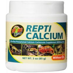 ZOOMED Repti Calcium 85g - Wapno dla gadów i płazów bez wit. D3