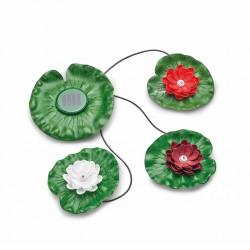 Pontec Solar Lily LED 3 - solarny pływający zestaw oświetlenia