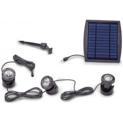 Pontec Solar LED 3 - solarny zestaw oświetlenia