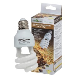 Repti-Zoo Desert Lamp 10.0 UVB 26W - Żarówka e27