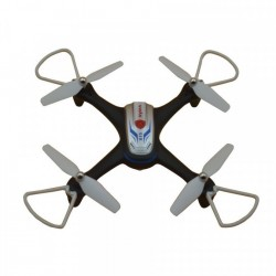 Syma X15A (2.4GHz, żyroskop, auto-start, zawis, zasięg do 25m, 28cm) - Czarny