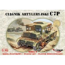 C7P Polski Ciągnik Artyleryjski - 1:35