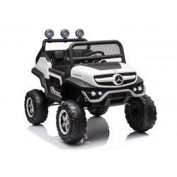 Pojazd na Akumulator Mercedes Unimog S Biały